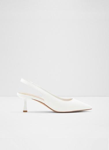 Aldo Peranga - Beyaz Kadin Topuklu Ayakkabi Beyaz